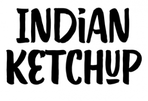 Auntie's Sauces - Indian Ketchup Logo